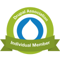Drupal assoc badge